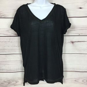 Rock & Republic V-Neck Burnout Tee